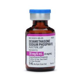 Dexamethasone Sodium Phosphate Injection, 4 mg / mL, 25 x 5 mL Vial