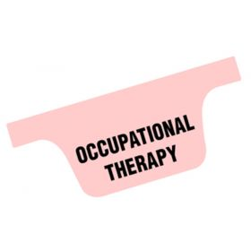 Chart Divider Tab - Occupational Therapy - Tyvek - Bottom