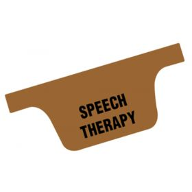 Chart Divider Tab - Speech Therapy - Tyvek - Side