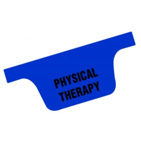 Chart Divider Tab - Physical Therapy - Tyvek-Side