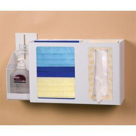 Hygiene Dispensing Station Wall Mount Quartz Beige 17-1/2 W X 9-3/4 H X 4-3/4 D Inch ABS Plastic
