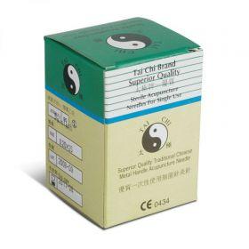 Tai Chi Singles Needles - 100/pk - 0.30 x 75mm