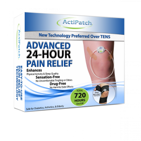 ActiPatch Advanced 24-Hour Pain Relief - Knee Pain Relief