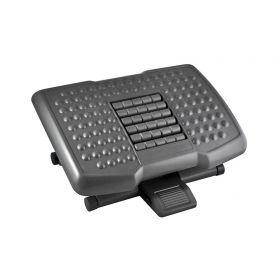 Premium Adjustable Footrest with Rollers