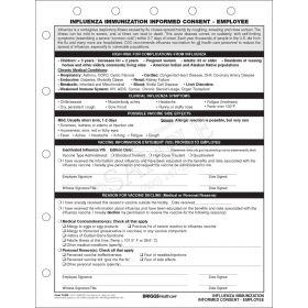 Influenza Immunization Informed Consent - Employee