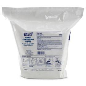Hand Sanitizing Wipe Purell 1,200 Count BZK (Benzalkonium Chloride) Wipe Refill Pouch