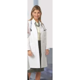 Lab Coat White Size 6 Knee Length Reusable 742087