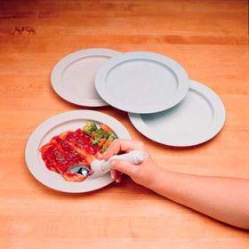 NonSkid InnerLip Plate