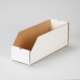 Corrugated Shelf Caddies, 4x4.5x12