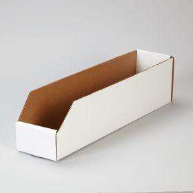 Corrugated Shelf Caddies, 4x4.5x18