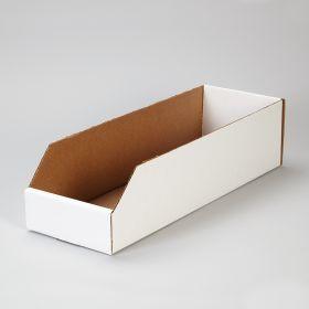 Corrugated Shelf Caddies, 6x4.5x18