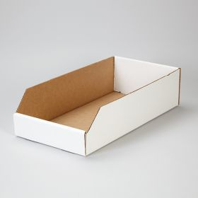 Corrugated Shelf Caddies, 9x4.5x18