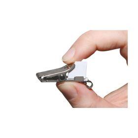 Tamper-Resistant Clothing Clip