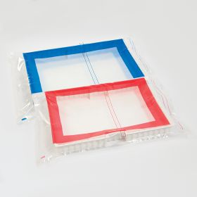 Security Bags w/ Red Border for Full-Size Crash Cart Boxes, 29 x 20