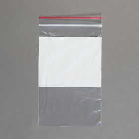 Easy-Write Reclosable Bags, Single-Track, 5 x 8