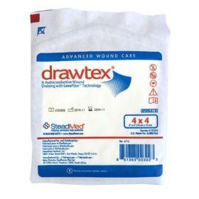 "Drawtex Hydroconductive Non-Adherent Wound Dressing, 4"" x 4"""