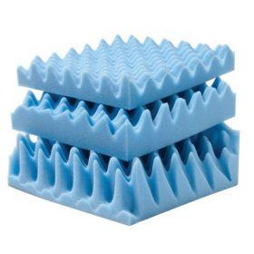 Mattress Pad Lumex Convoluted Foam 72 L X 52 W X 3 H Inch