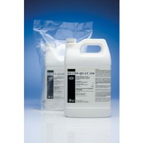 DECON-QUAT 100 Surface Disinfectant Cleaner Quaternary Based Liquid Concentrate 1 gal. Jug Benzaldehyde Scent NonSterile
