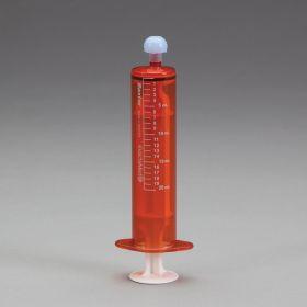 ExactaMed Oral Dispensers w/ Tip Caps, 20mL - Amber