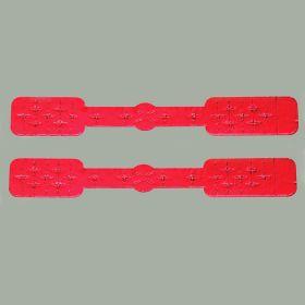 Short Tamper-Indicating Syringe Seals, Red