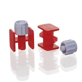 Sterile Luer Lock To Luer Lock Connectors with Caps