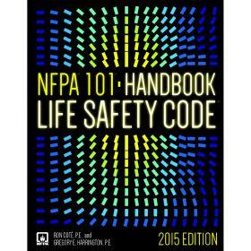 NFPA 101: Life Safety Code, Hardbound Handbook, 2012 Edition 8121-15