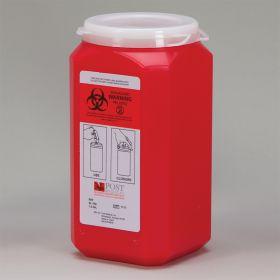 Leaktight Sharps Container, 1-1/2-quart