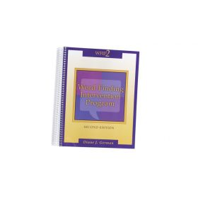 Word Finding Intervention Program Second Edition