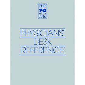 2016 Physicians Desk Reference, 70th Edition