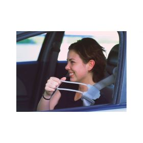 The Easy Reach Seat Belt Handle