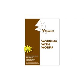 Working with Words Vol. 3