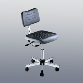 Kango Low Polyurethane Seat Chair With Tilt and Casters