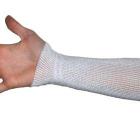 Compression Stockinette EdemaWear Medium White Wrist to Shoulder Foot to Knee