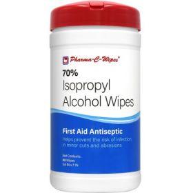 Antiseptic Skin Wipe Pharma-C-Wipes Towelette Canister