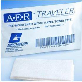 Hemorrhoid Relief AER Traveler Pad 50 per Box