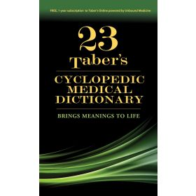 Taber's Cyclopedic Medical Dictionary, 23rd Edition