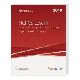2019 HCPCS Level II Professional (Softbound) - Optum360