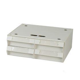 Four-Bin Cassette, 17x6.5x15
