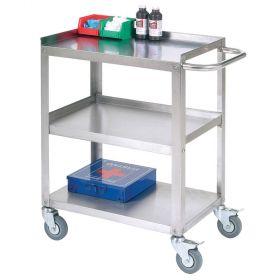 Nexel  Stainless Steel Utility Cart