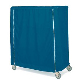 Metro Cart Covers, Opaque Solid Fabric, Waterproof Cover, Hook-and-Loop Closure