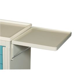 AliMed  Cart Accessory, Collapsible Side Shelf