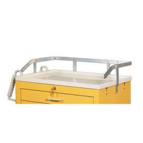 AliMed  Cart Accessory, Heavy-Duty Railing