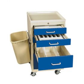 AliMed  Mini Tower Procedure Cart Accessory Package