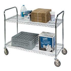 Wire Shelf Utility Carts