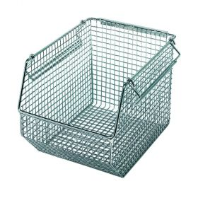 Quantum Mesh Stack and Hang Bins and Louvered Panels