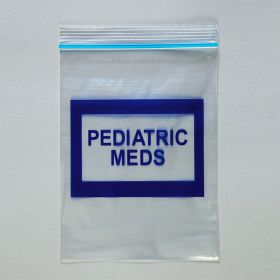 Pediatric Meds Bags, 6 x 8
