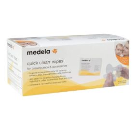 Breast Pump Wipe Medela Quick Clean