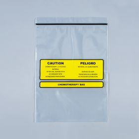 Chemotherapy Disposal Bags, 9 x 12