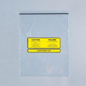 Chemotherapy Disposal Bags, 12 x 15