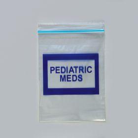 Pediatric Meds Bags, 4 x 6